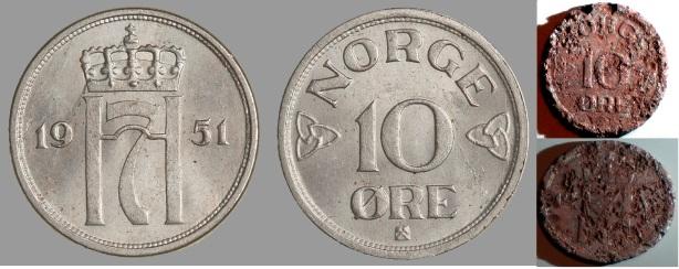 10øre 1951